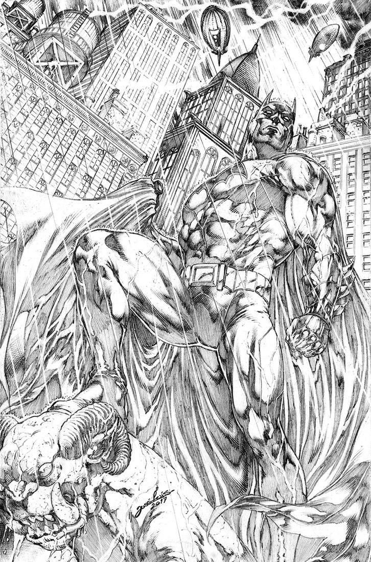 Commission Batman JL by JoseLuisarts