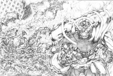 Capa MDSH #86 Thanos JL 2017 by JoseLuisarts