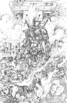 SLADE WILSON / Deathstroke / Exterminador