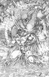 BATMAN vs KILLER CROC / DC COMICS