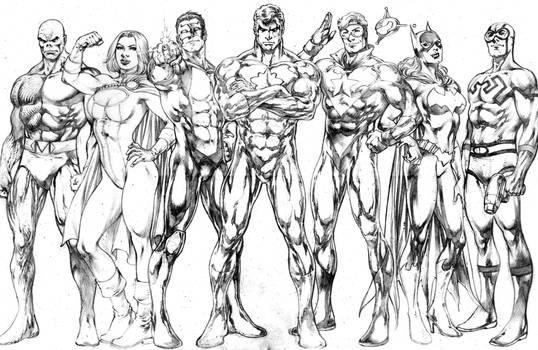 Commission Justice League JL 2019