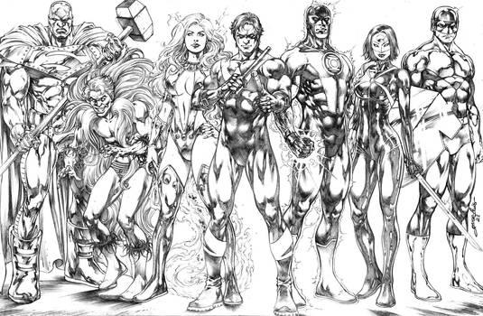 HERO TEAM - DC Comics