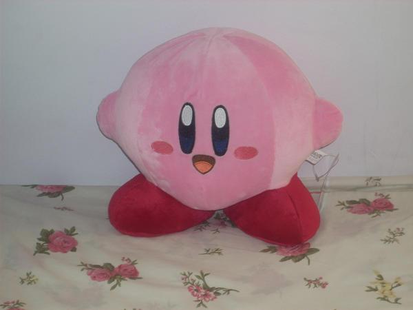 Kirby Plushie by zeroexe34