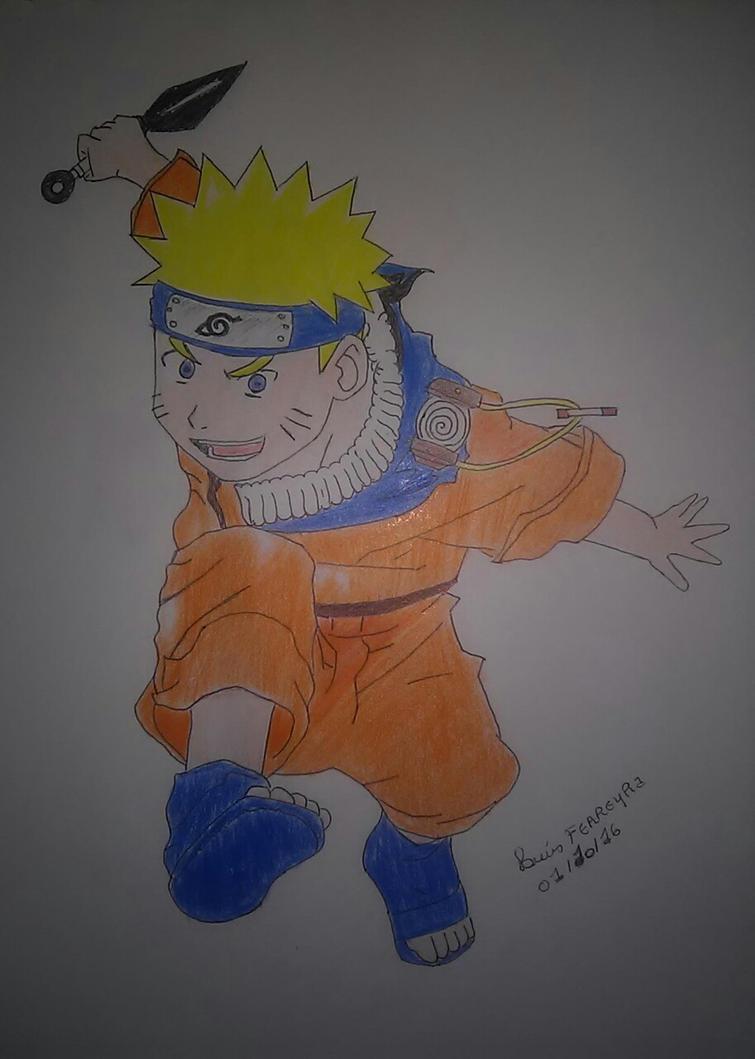 Naruto by Alcmenes