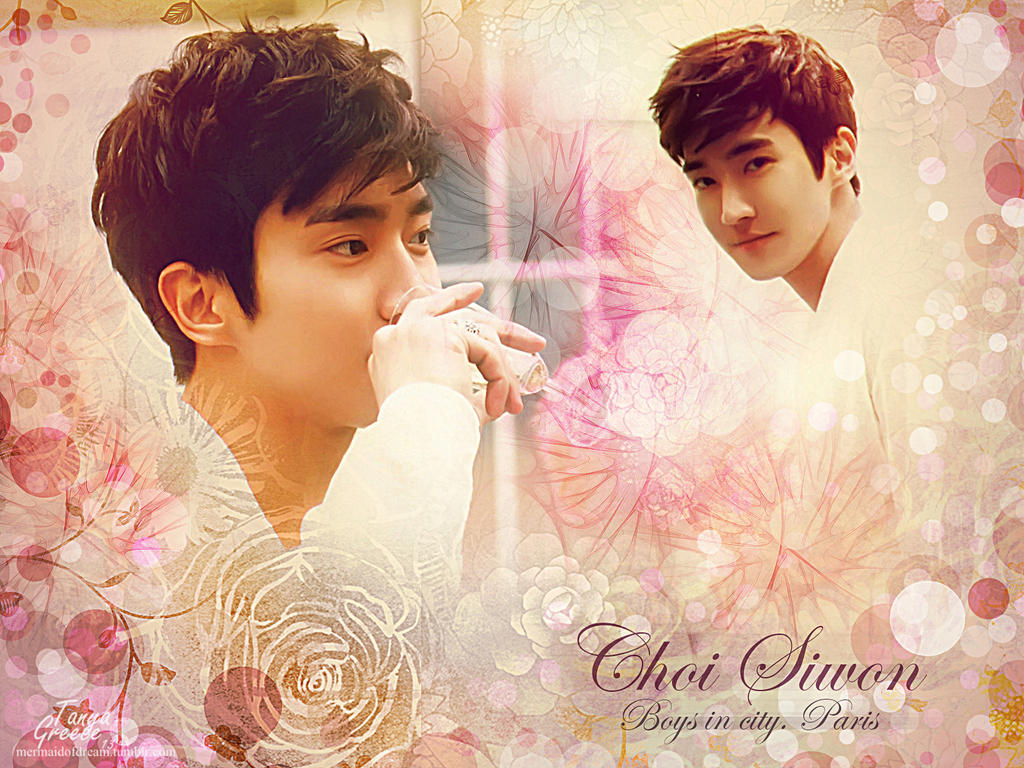 Choi Siwon. Boys in city. Paris by TanyaGreece on DeviantArt