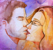 Olicity kiss 2 by TanyaGreece