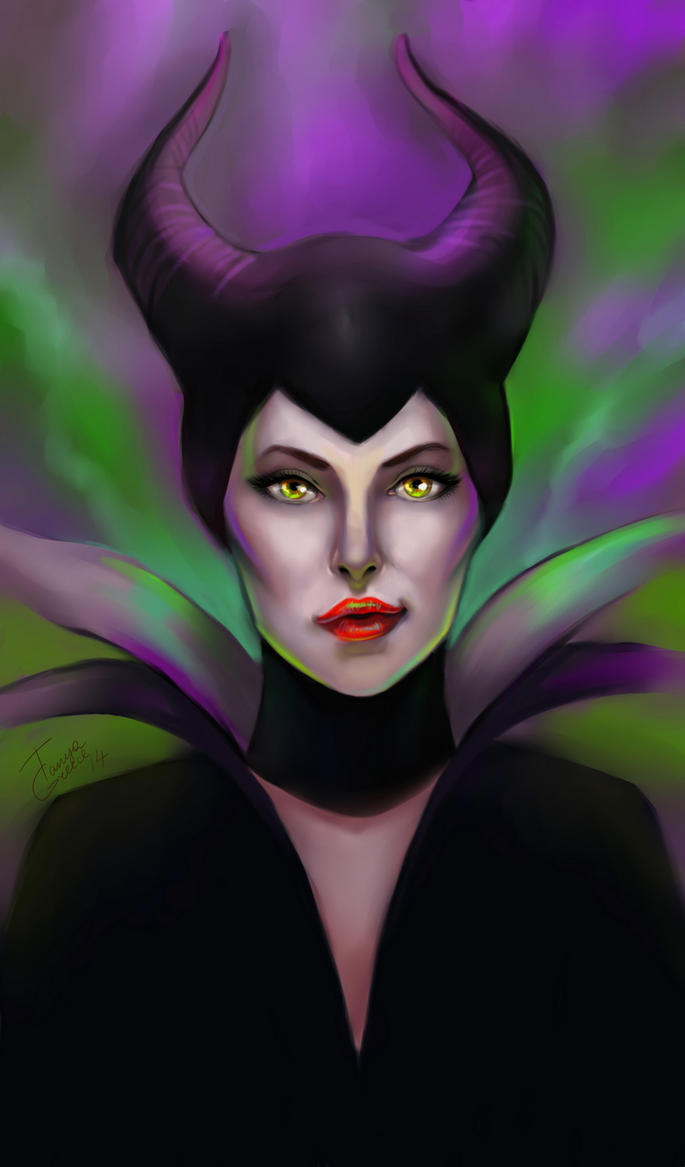 Maleficent by TanyaGreece
