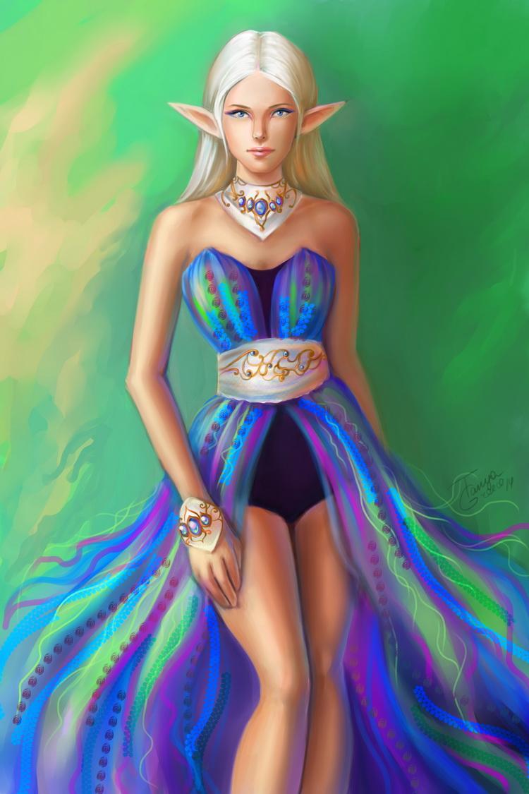 Elenia by TanyaGreece
