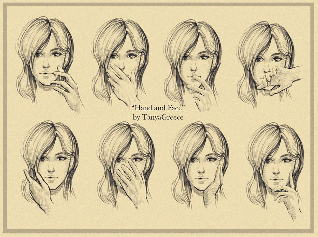 Hand And Face By TanyaGreece On DeviantArt