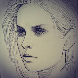 izombie sketch by TanyaGreece