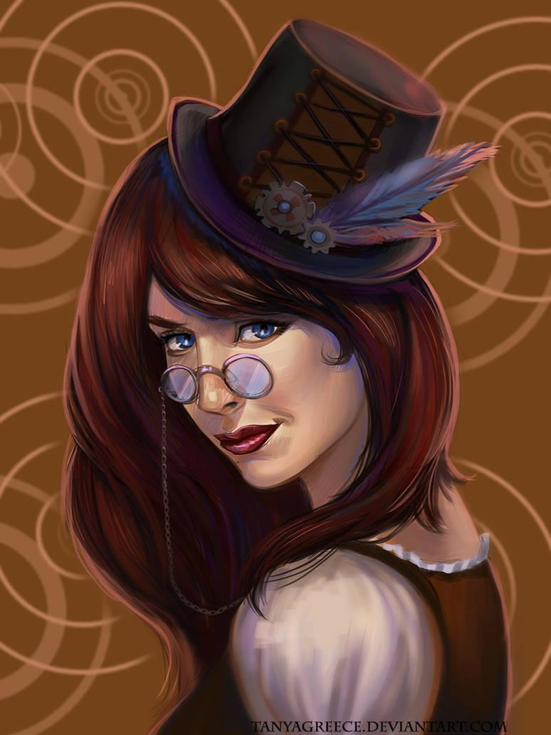 Steampunk Girl (video) by TanyaGreece