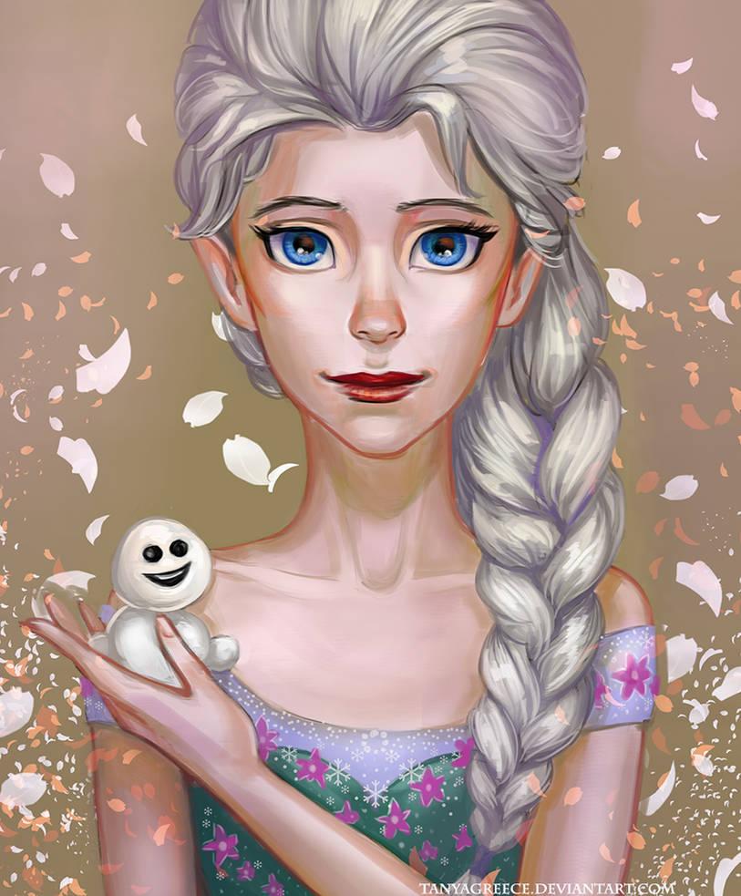 Elsa frozen-fever by TanyaGreece