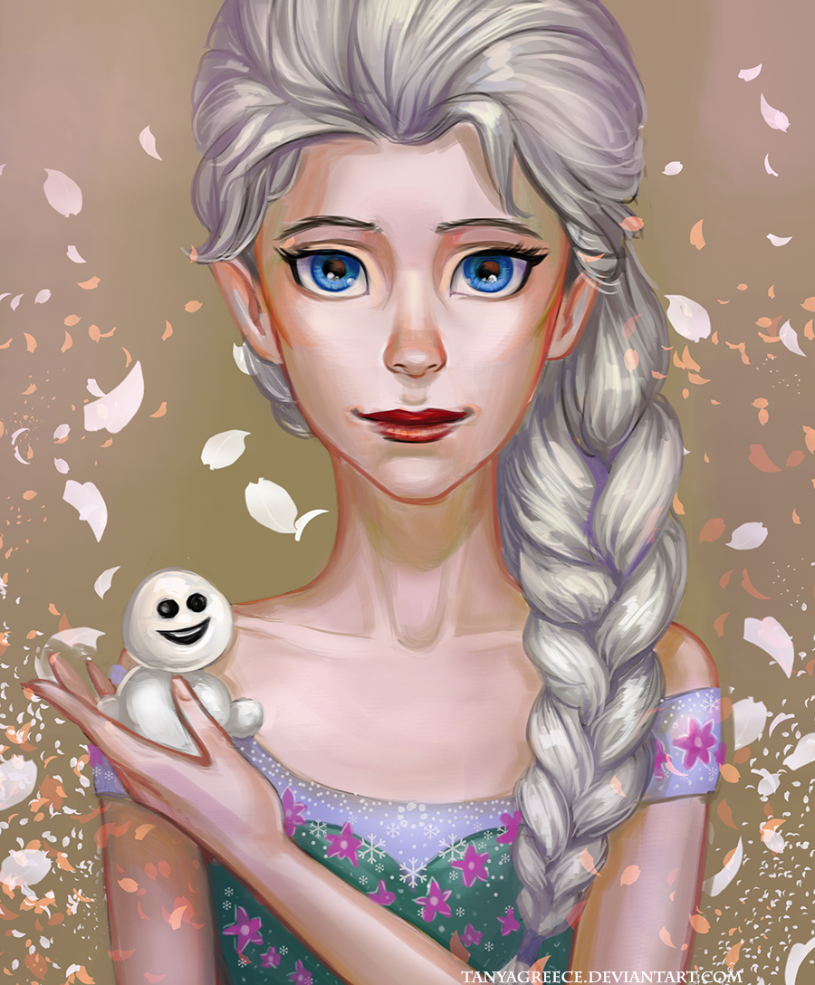 Elsa frozen-fever by TanyaGreece