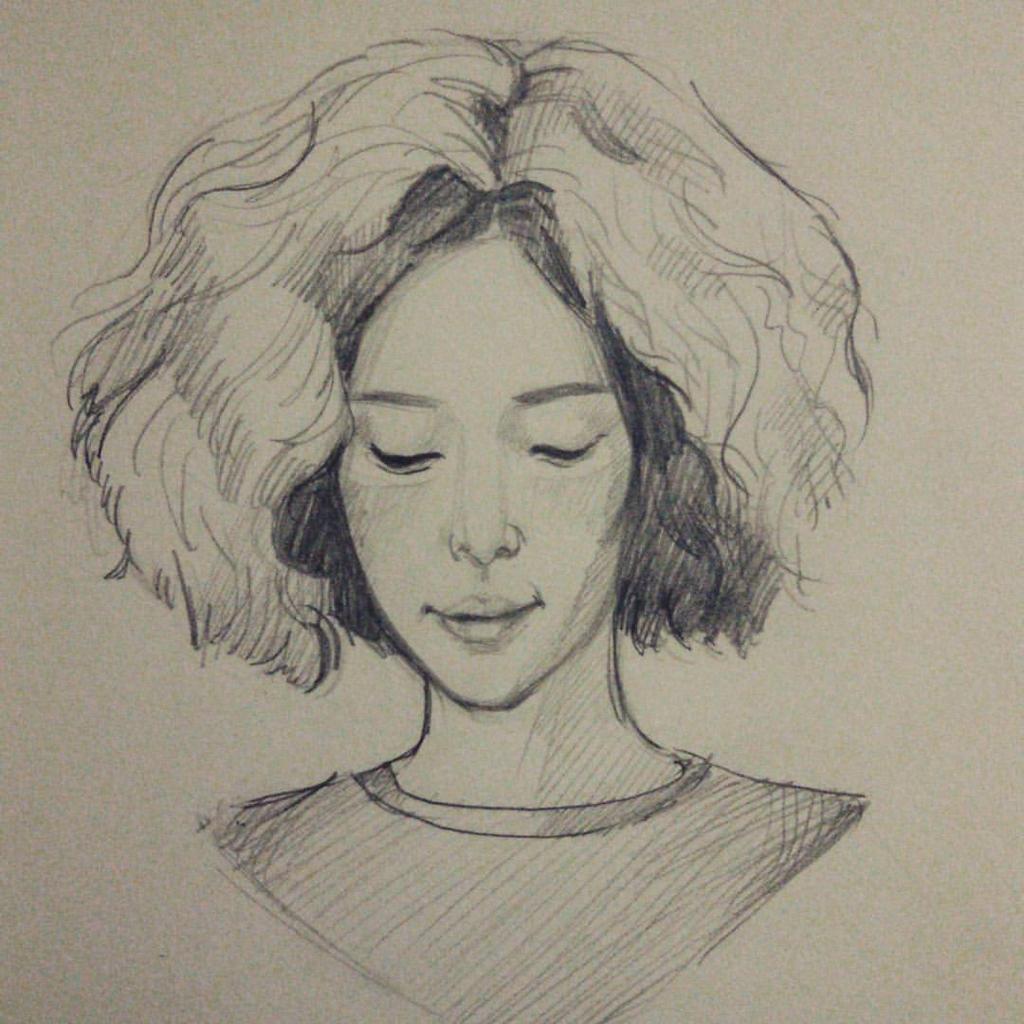 She was pretty kim hye jin by tanyagreece on deviantart for Pretty sketches