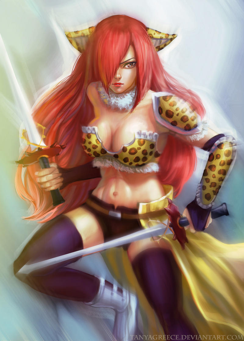 erza flight armor by tanyagreece on deviantart