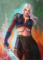 Ciri by TanyaGreece
