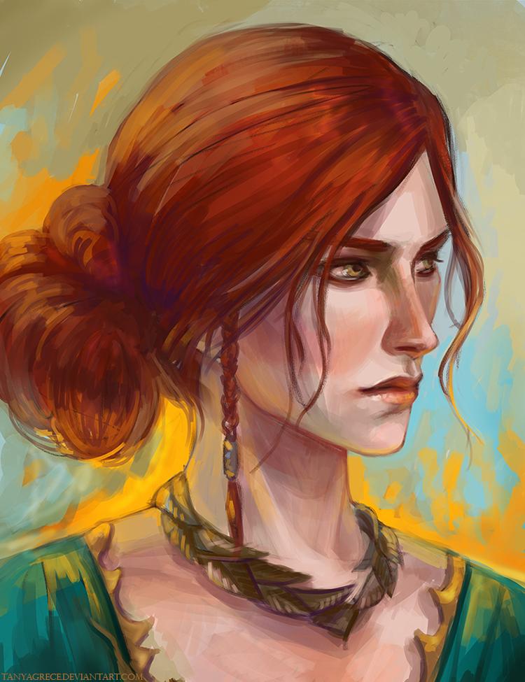 Triss Merigold by TanyaGreece