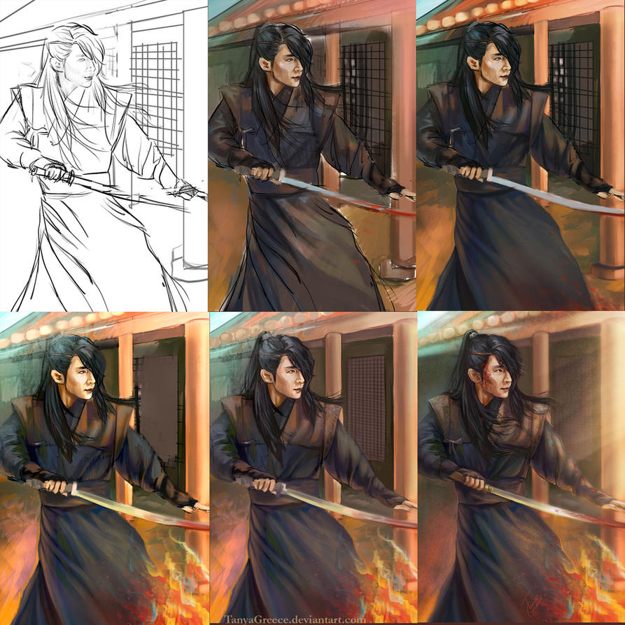 Wang So Fury Process by TanyaGreece