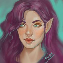 Elf by TanyaGreece