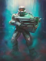 Doom Slayer by TanyaGreece