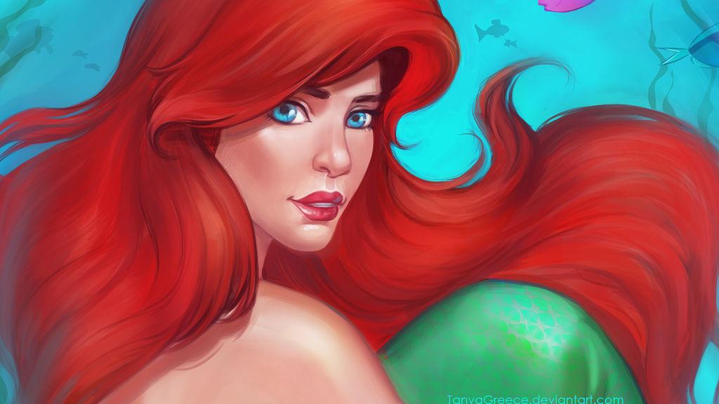 The little mermaid wallpaper