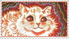 Cats Louis Wayne 2 Stamp by ChuChucolate