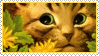 Cats Louis Wayne 5 Stamp by ChuChucolate