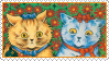 Cats Louis Wayne 7 Stamp by ChuChucolate
