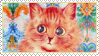 Cats Louis Wayne 9 Stamp by ChuChucolate