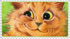 Cats Louis Wayne 10 Stamp by ChuChucolate