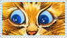 Cats Louis Wayne 15 Stamp by ChuChucolate