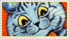 Cats Louis Wayne 18 Stamp