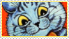 Cats Louis Wayne 18 Stamp by ChuChucolate