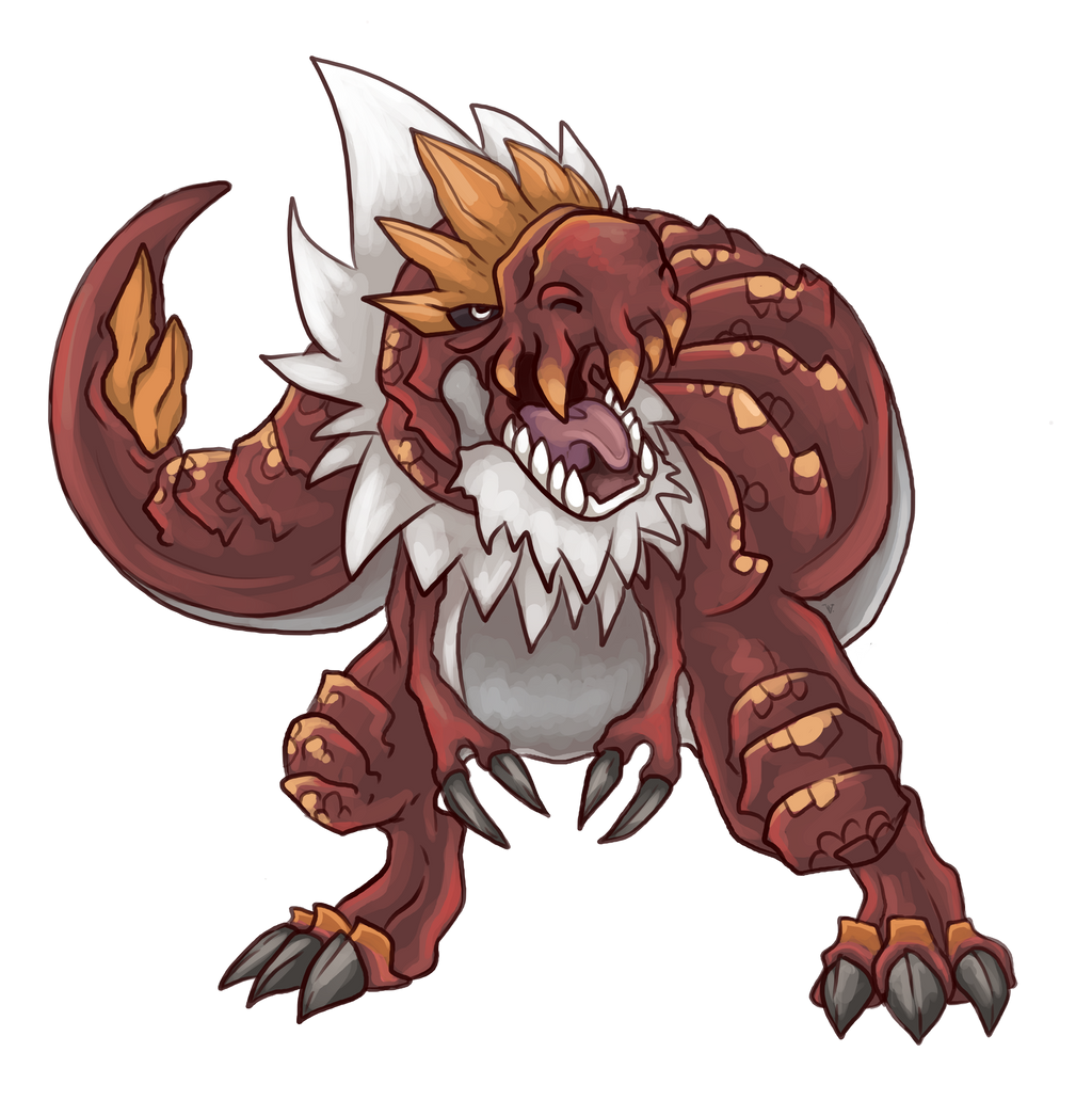 Tyrantrum by ChuChucolate
