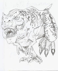 Entry 04- Wild Saurian