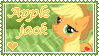 Applejack Stamp by Donald-Bottom