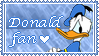 Donald Stamp by DashingDuck