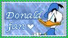 Donald Stamp by DashingDuck