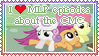 Cutie Marks Crusaders stamp by Donald-Bottom