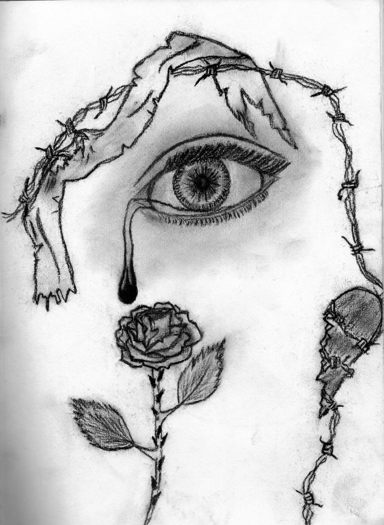 my crying eye by kiracrazy9999 on DeviantArt