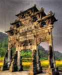Chinese Gate - HDR