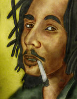 Bob Marley - Colored by AfroAfrican