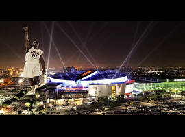 Kobe Bryant At Staples Center by AfroAfrican