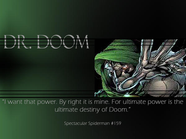 dr doom wallpaper
