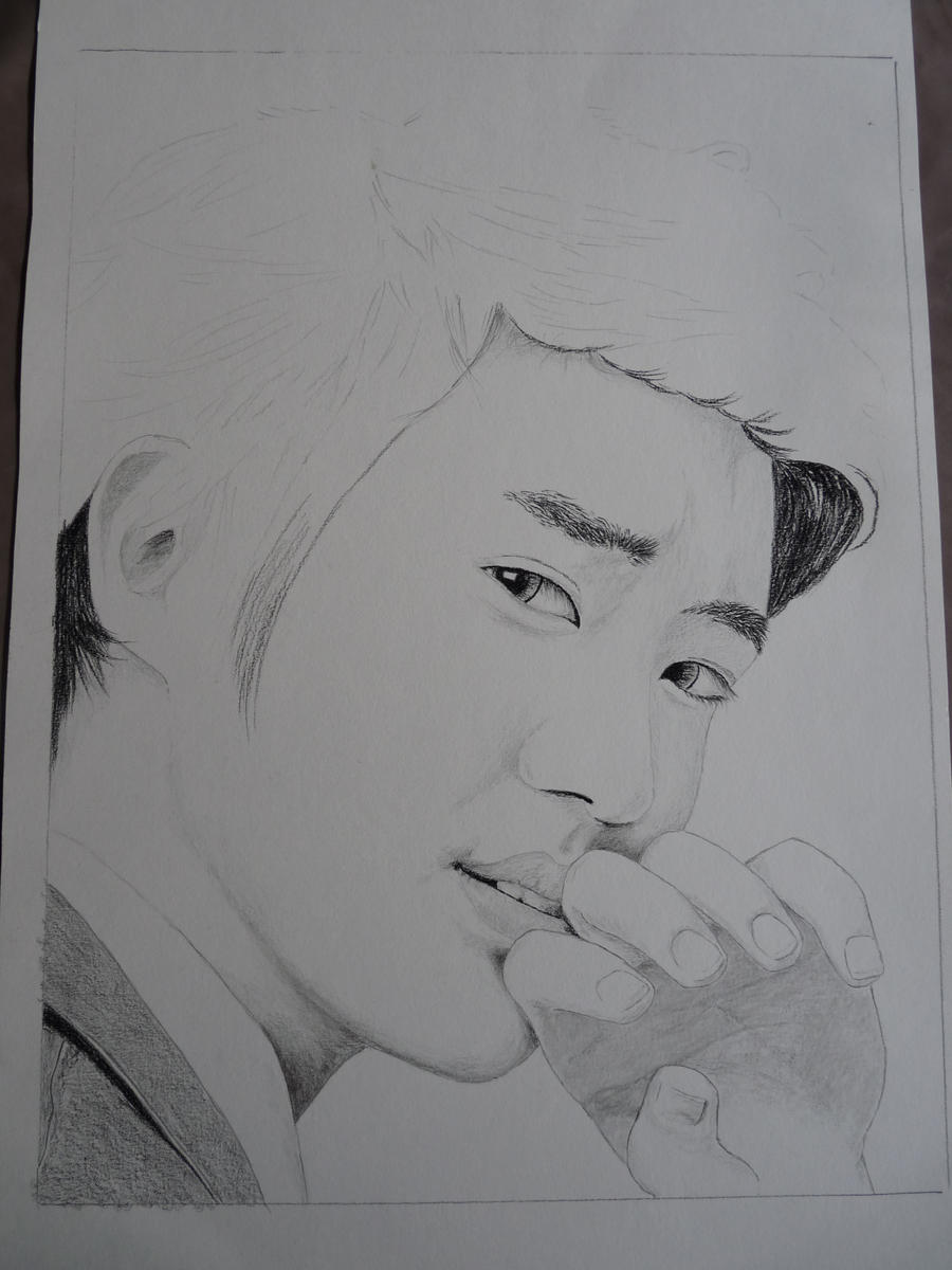 WIP Choi Siwon by ViviArt on DeviantArt