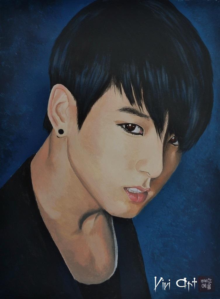 Jungkook - BTS by Vivi--Art