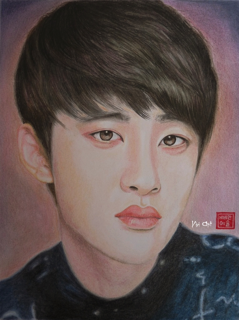 Do / Kyung-soo - EXO by Vivi--Art
