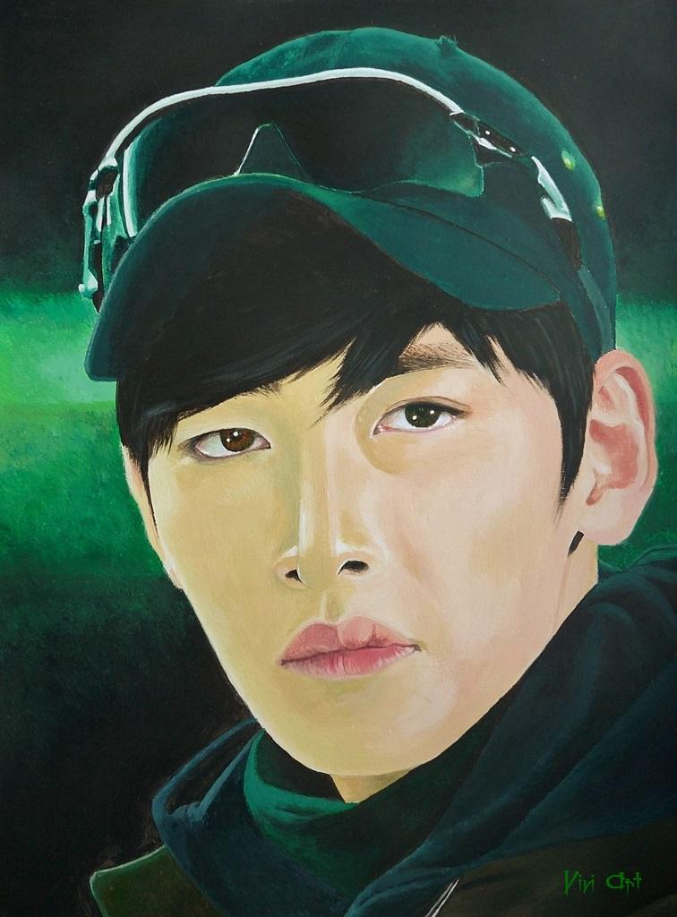 Ji Chang Wook by Vivi--Art