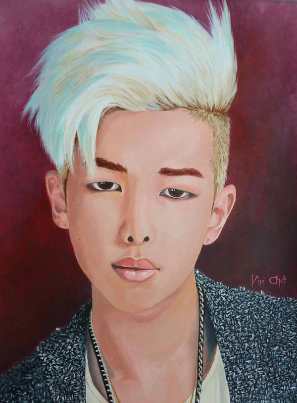 RM from BTS by Vivi--Art