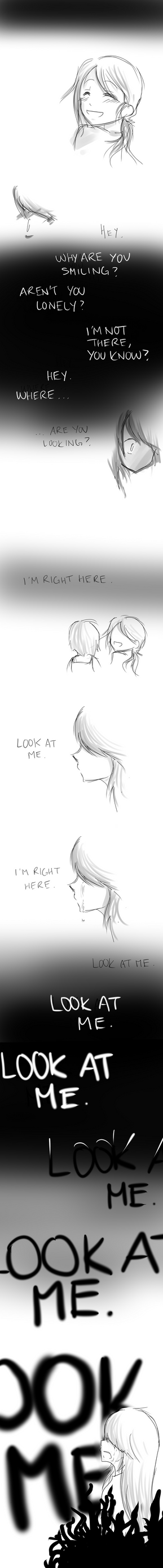 Look At Me by anime-storm